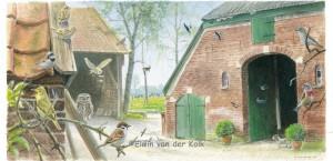 Illustratie Boerenerf